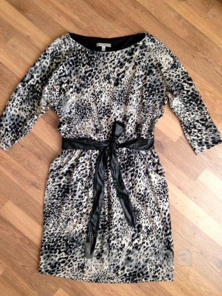 Теплое платье sandra darren идеальное состояние фото №2