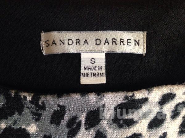 Теплое платье sandra darren идеальное состояние фото №3