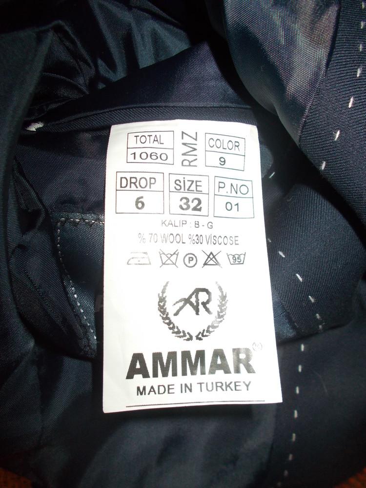 Новый модный пиджак с латками турция ammar фото №5