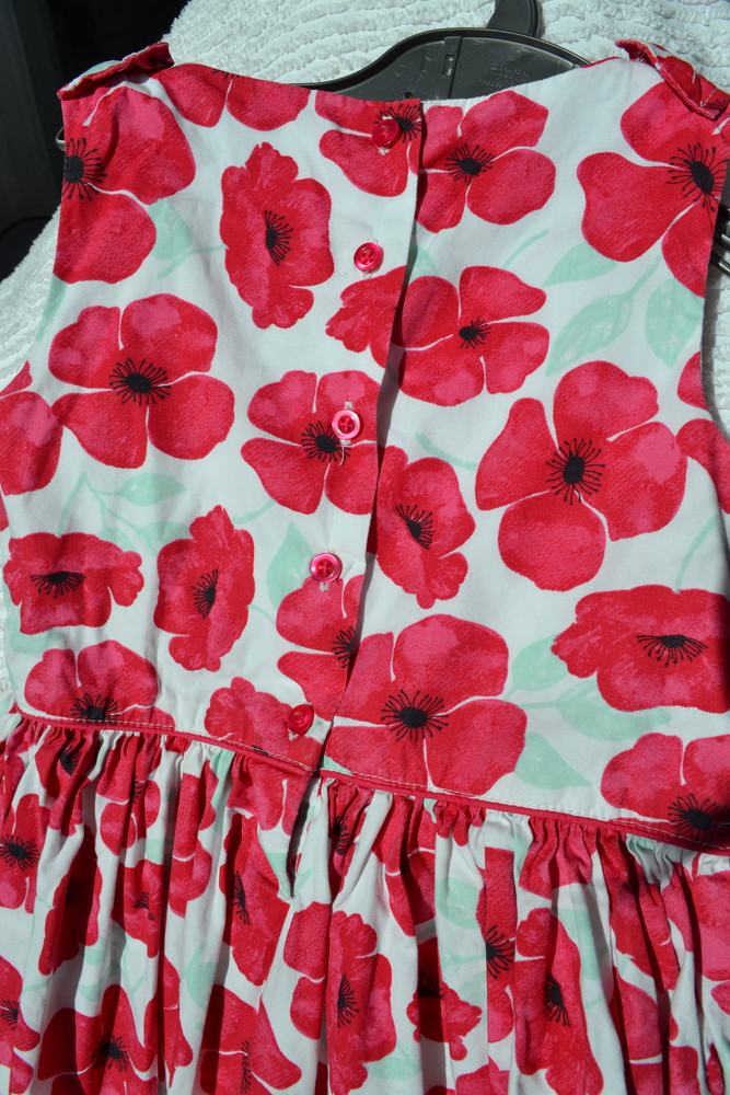 Красивое платье f&f 5-6 лет фото №5