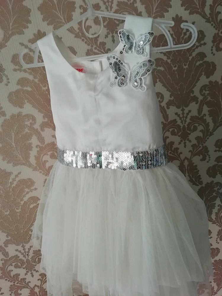 Нарядное платье девочке фото №1