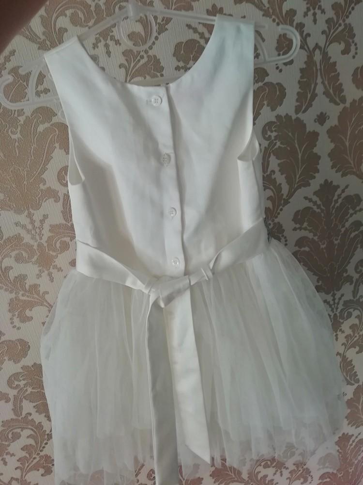 Нарядное платье девочке фото №3