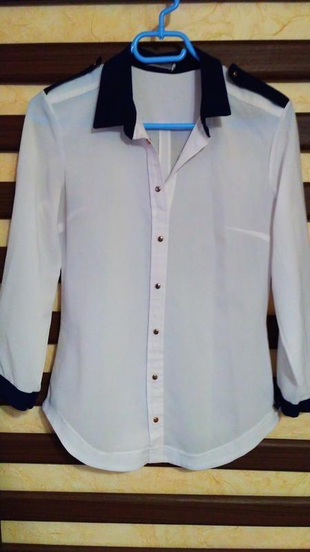Блуза жіноча, блузка женская, белая блузка, кофта женская, нарядная блузка фото №1