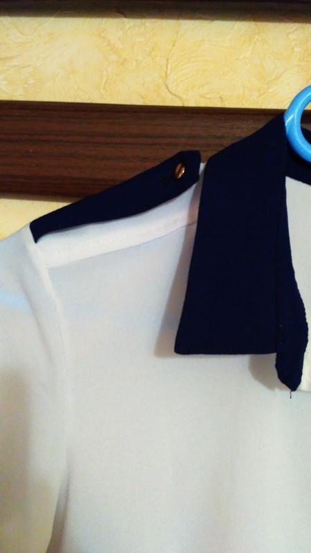 Блуза жіноча, блузка женская, белая блузка, кофта женская, нарядная блузка фото №4
