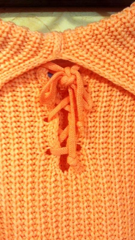 Теплый свитер, кофта женская, свитер с хомутом, тепла жіноча кофта, светр грубої в'язки фото №5