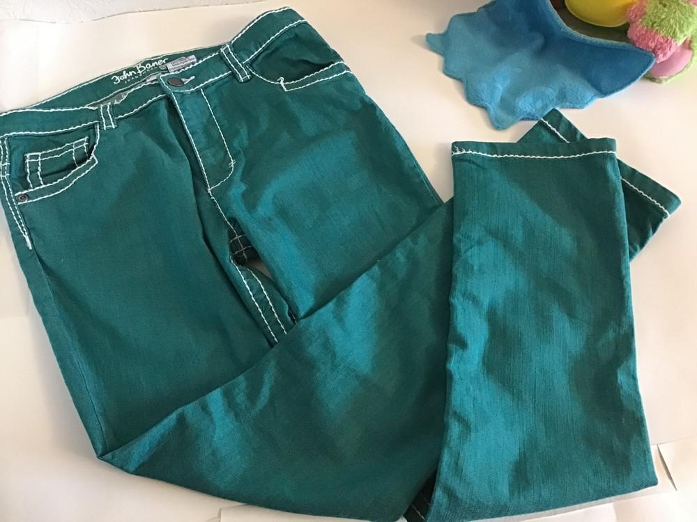 Яркие джинсы брюки john baner p.160 фото №1