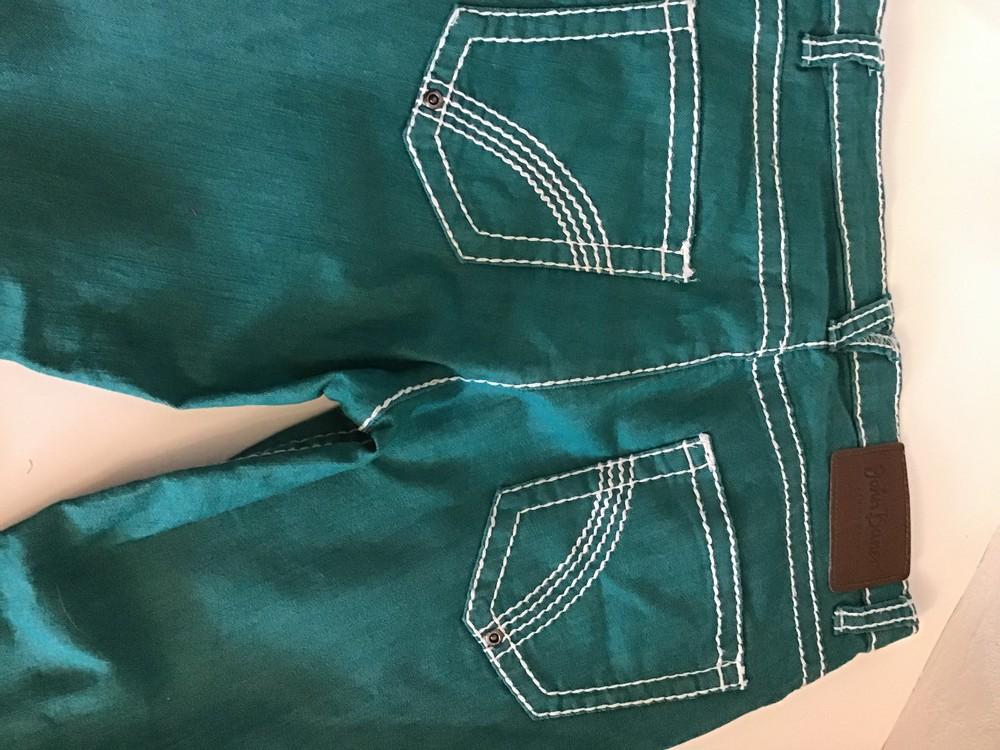 Яркие джинсы брюки john baner p.160 фото №2