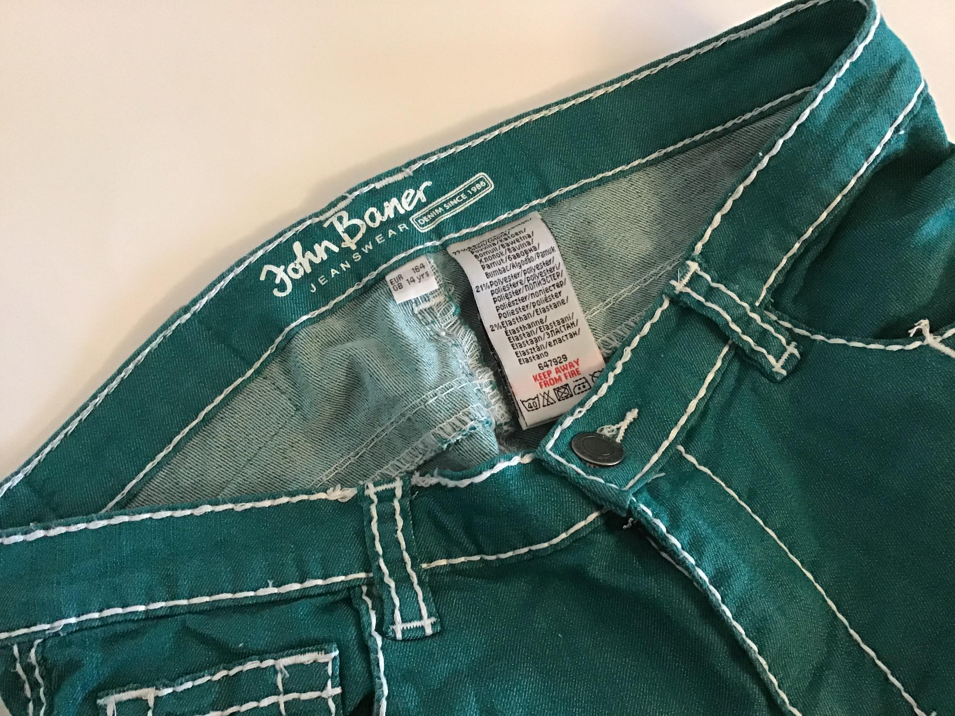 Яркие джинсы брюки john baner p.160 фото №3