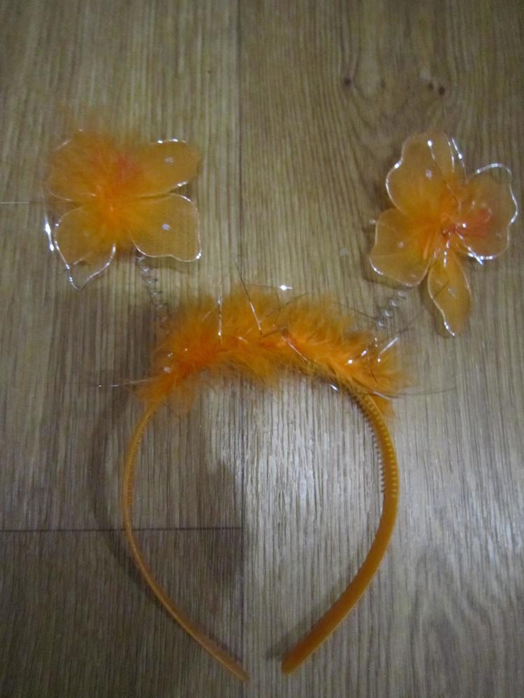 Карнавальный обруч бабочка фото №1