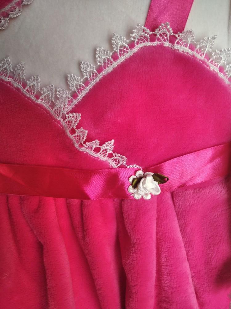 Нарядное платье велюровое фото №3