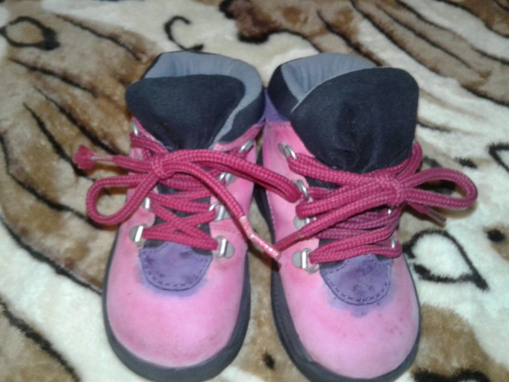 Ботинки 19 размер кожа, стелька 12 см фото №1