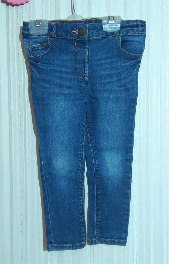 Синие джинсы george для девочки 1,5-2 года фото №1