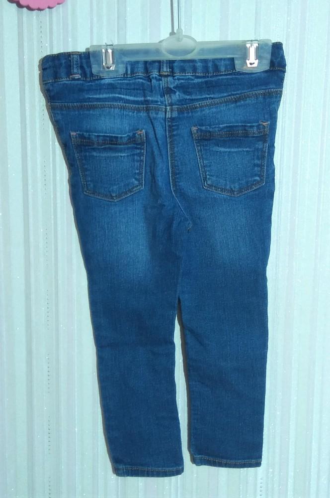 Синие джинсы george для девочки 1,5-2 года фото №2