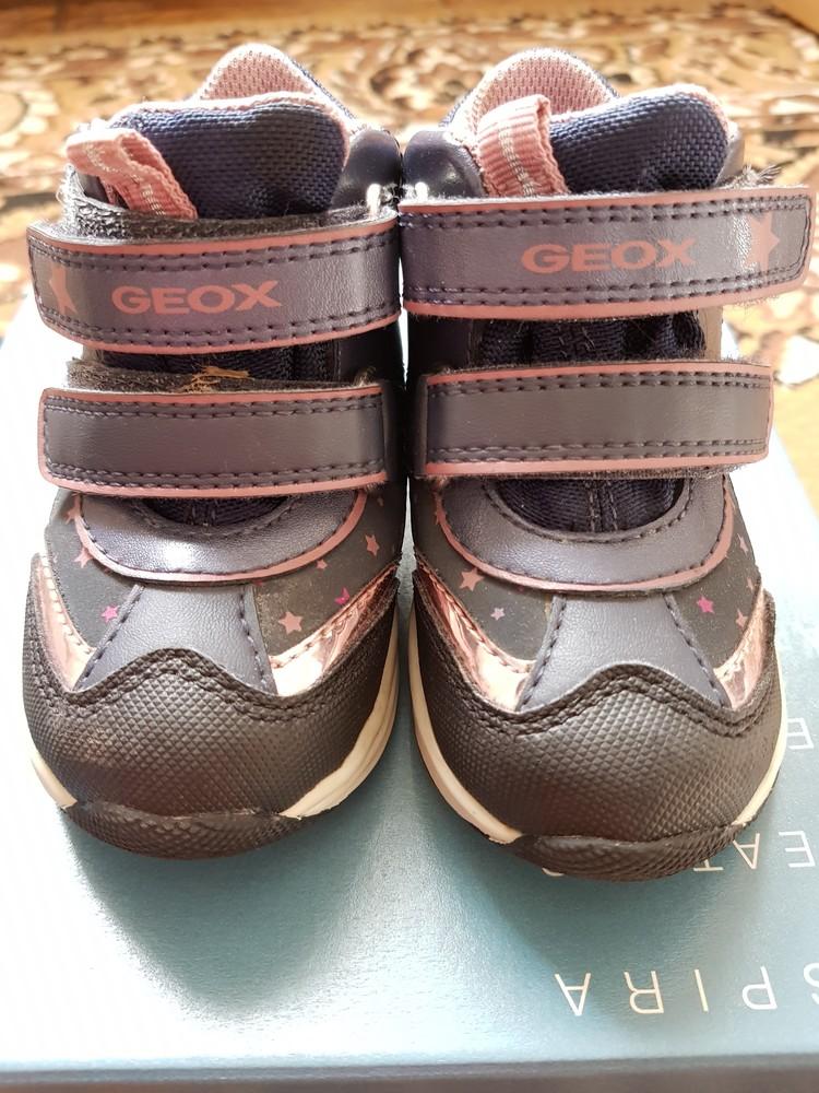 Детские ботинки снегоходы geox b741fc фото №1
