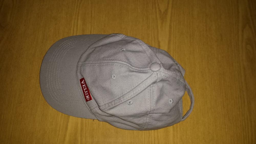 Одежда вещи головной убор унисекс кепка бейсболка серая обхват головы 54 см хлопок коттон фото №5
