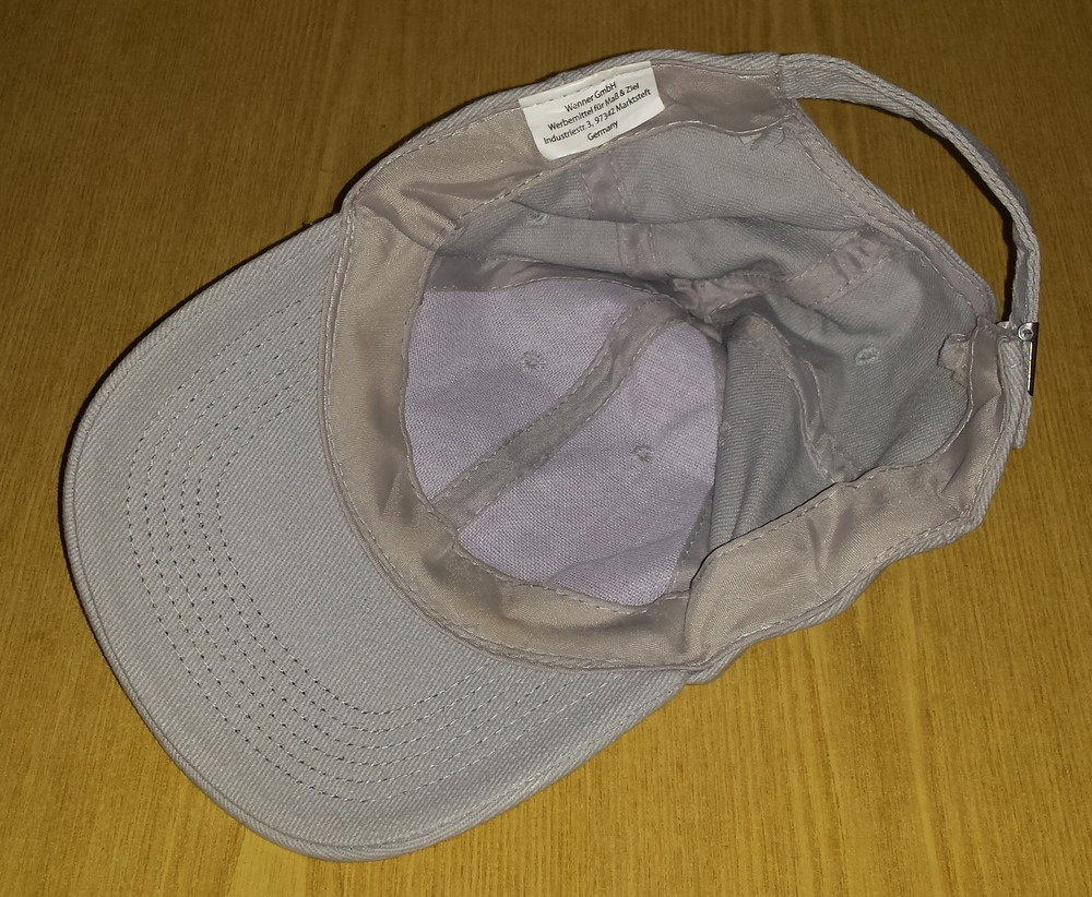 Одежда вещи головной убор унисекс кепка бейсболка серая обхват головы 54 см хлопок коттон фото №7