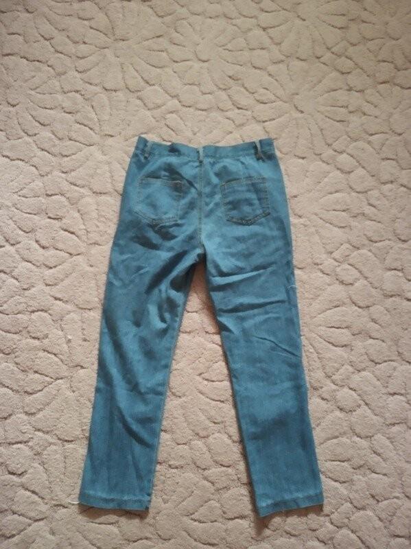 Продам новые, красивые и модные джинсы на девушку 44-46 р фото №3
