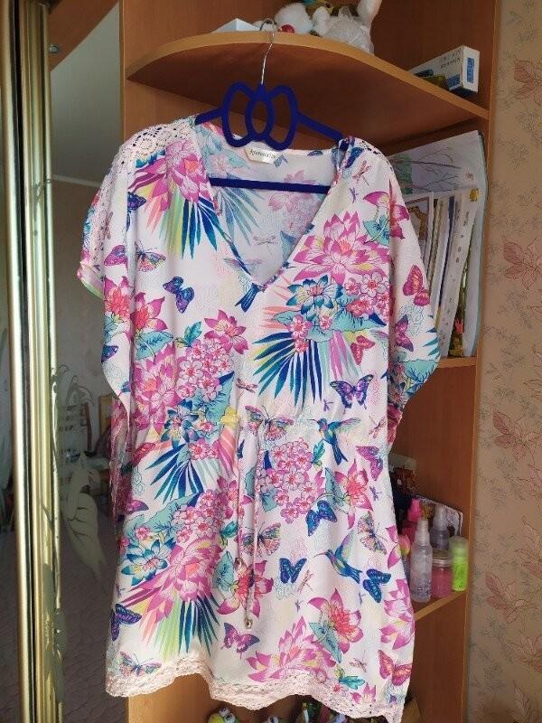 Продам красивую летнюю блузку фирмы accessories размер l фото №1