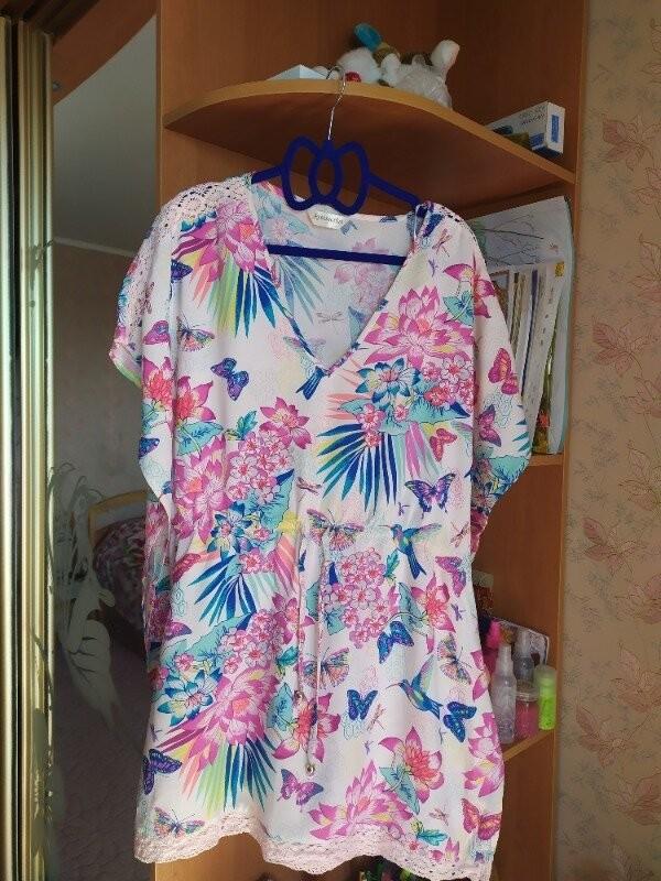 Продам красивую летнюю блузку фирмы accessories размер l фото №2