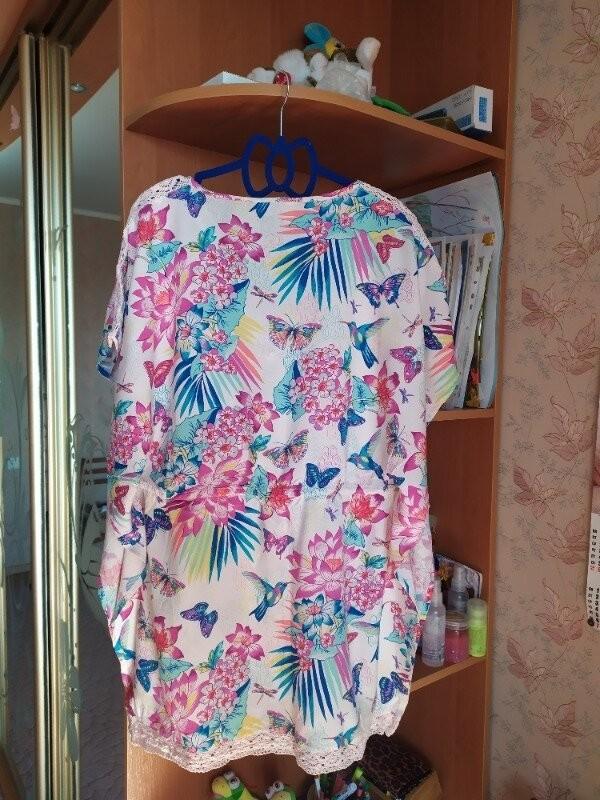Продам красивую летнюю блузку фирмы accessories размер l фото №3