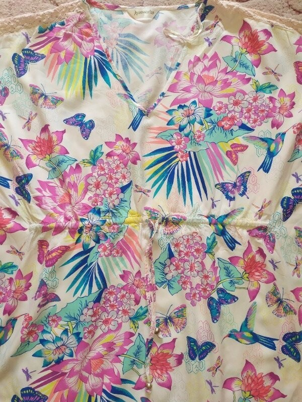 Продам красивую летнюю блузку фирмы accessories размер l фото №4