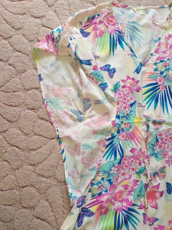 Продам красивую летнюю блузку фирмы accessories размер l фото №7