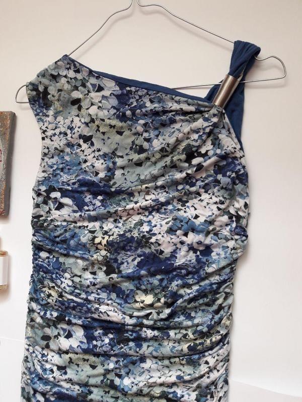 Яскраве , ніжне натуральне плаття туніка dorothy perkins p.xs,s,m фото №2