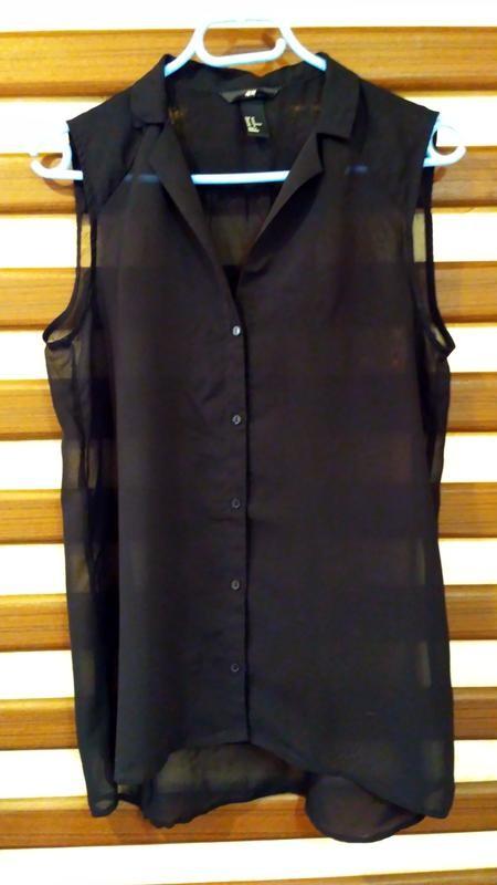 Блузка жіноча, блуза женская h&m, розмір м фото №1