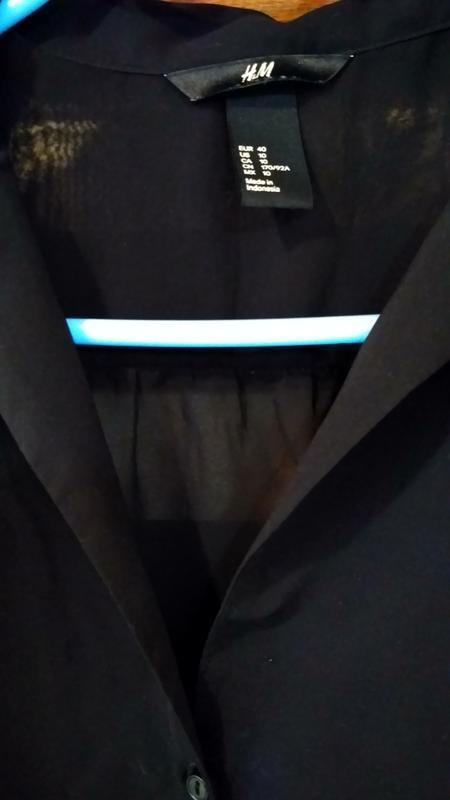 Блузка жіноча, блуза женская h&m, розмір м фото №2