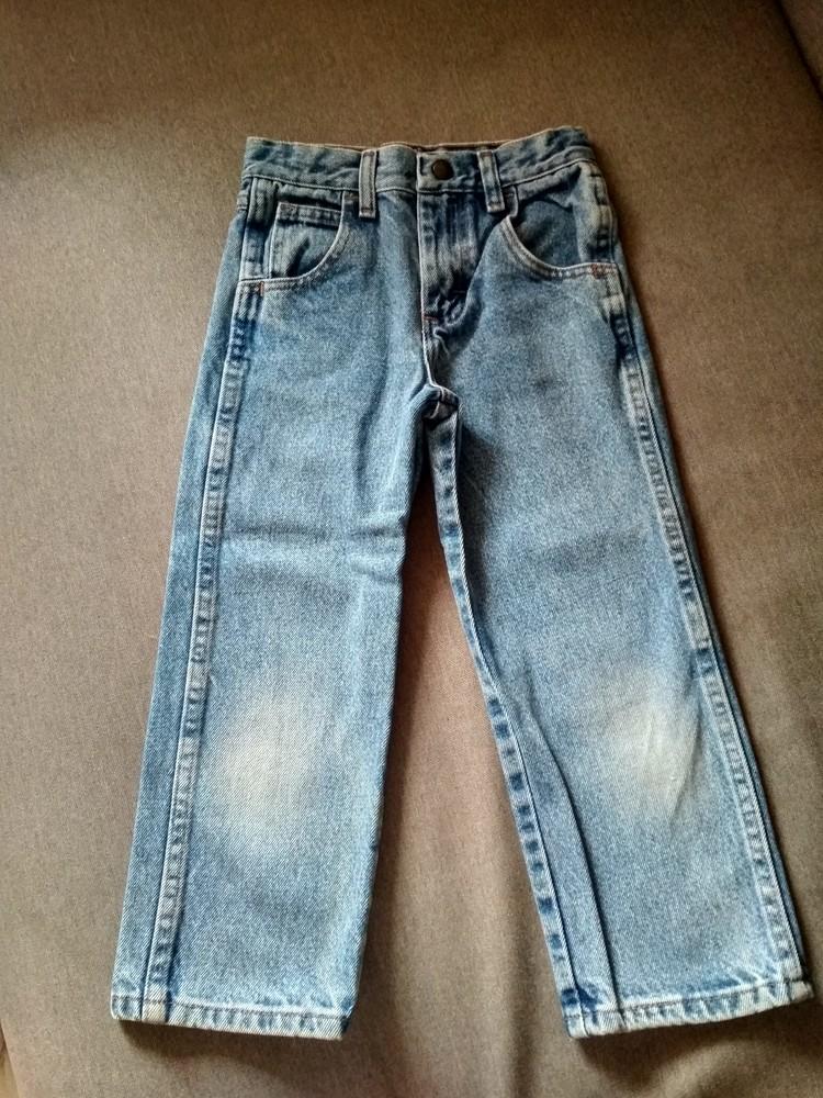 Детские классические джинсы big rock canyon, сша, мальчику, размер 5, на 5 лет фото №1