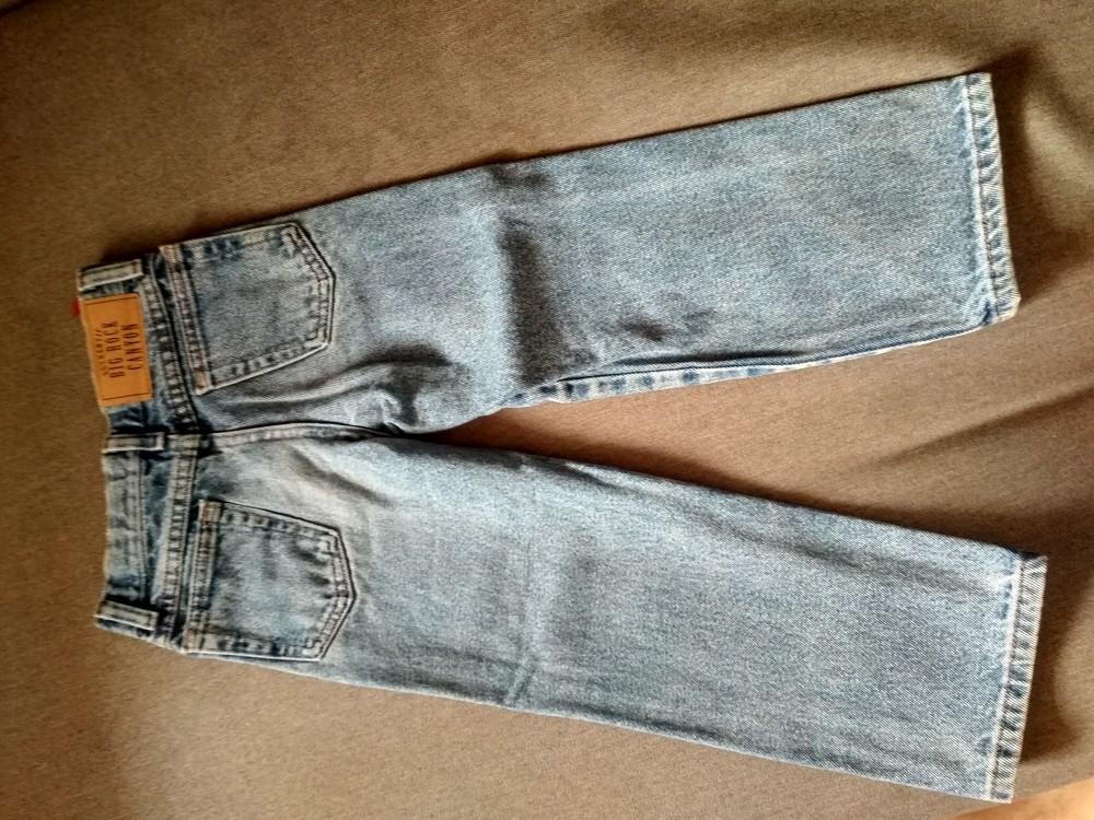 Детские классические джинсы big rock canyon, сша, мальчику, размер 5, на 5 лет фото №7