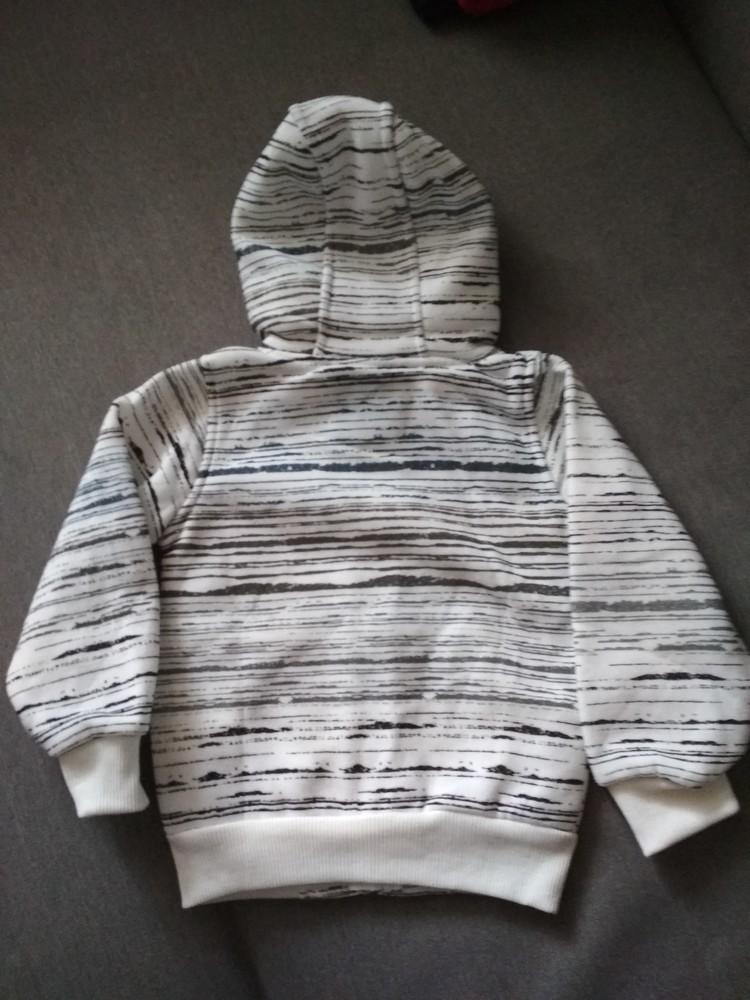 Новая теплая белая толстовка худи swiss cross, сша, мальчику и девочке на 1-2 года, размер 2т фото №4