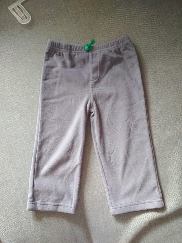Детские флисовые штаны брюки carter's (картерс), сша, размер 24м, на 1-2 года фото №3