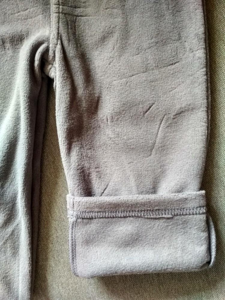 Детские флисовые штаны брюки carter's (картерс), сша, размер 24м, на 1-2 года фото №4