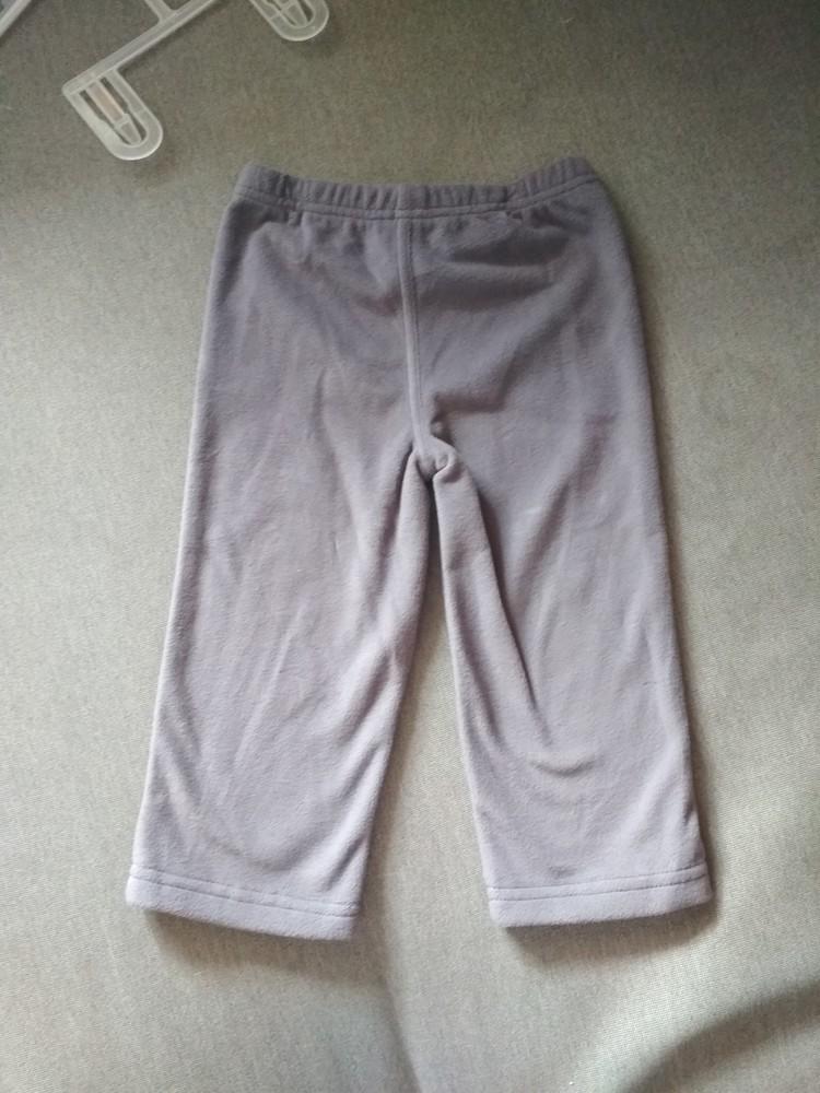 Детские флисовые штаны брюки carter's (картерс), сша, размер 24м, на 1-2 года фото №7
