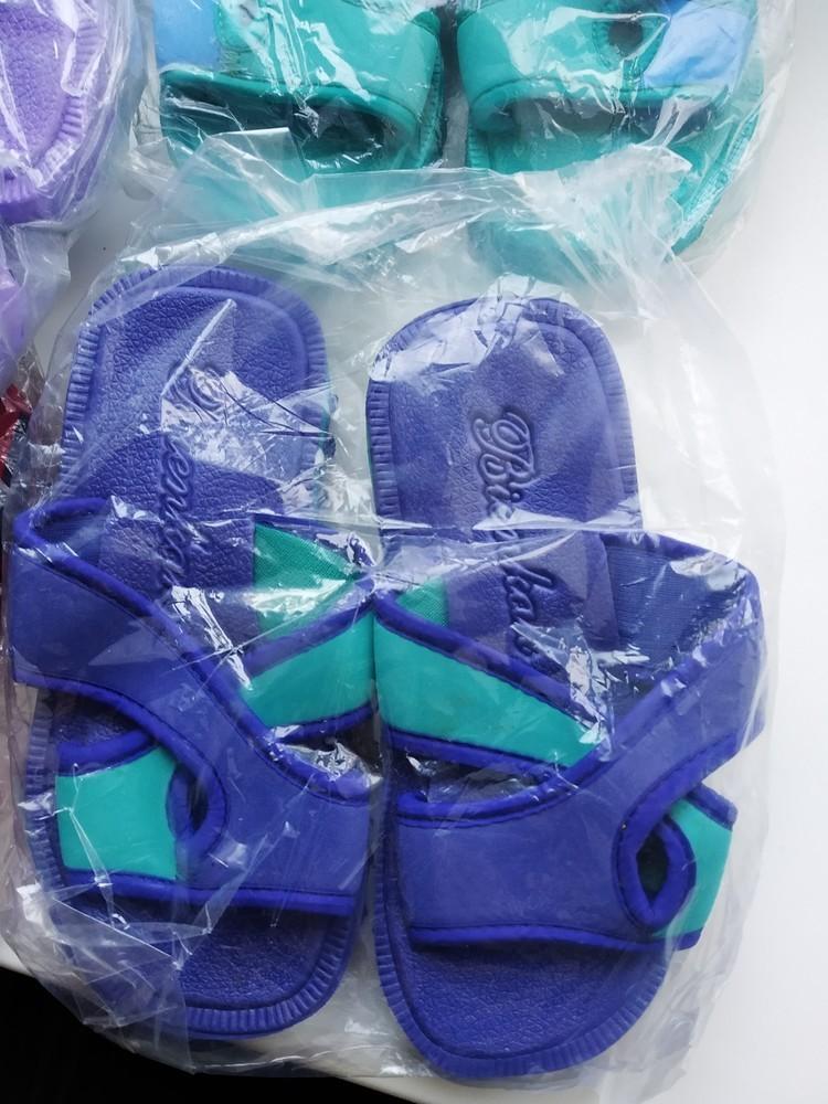 Шлепки шлепанцы тапочки пляжные. разные размеры. новые фото №2