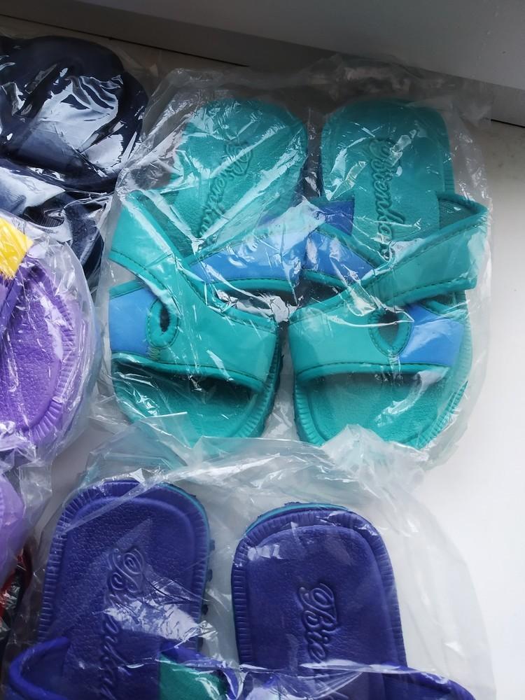 Шлепки шлепанцы тапочки пляжные. разные размеры. новые фото №7