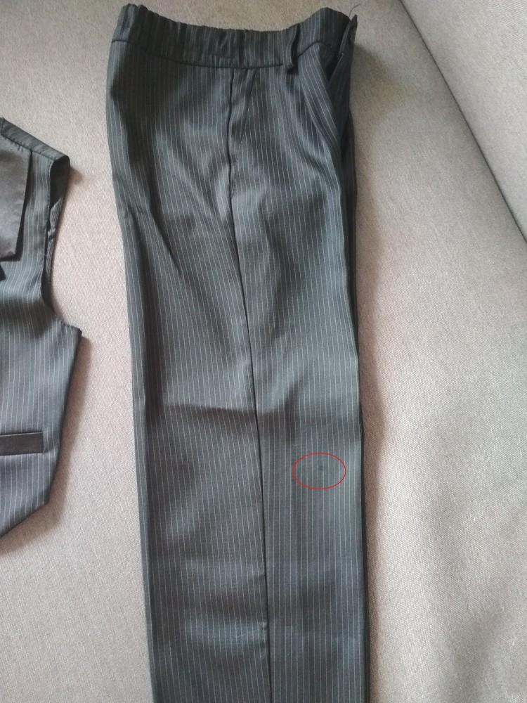 Костюм двойка suzie мальчику на 4-5 лет – жилетка и брюки плюс рубашка в подарок, размер 110-116 фото №9