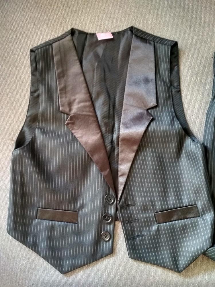 Костюм двойка suzie мальчику на 4-5 лет – жилетка и брюки плюс рубашка в подарок, размер 110-116 фото №5