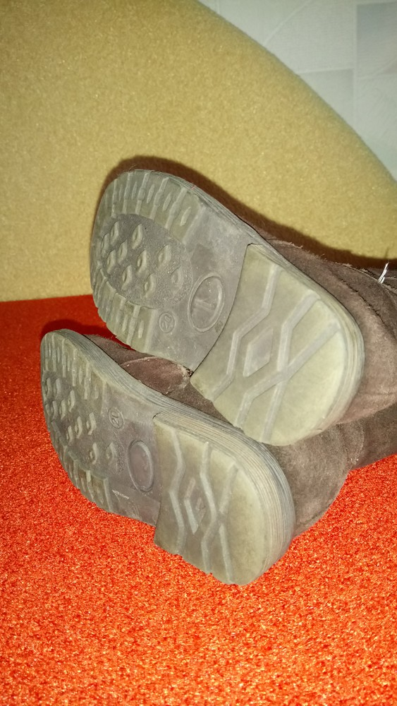 Замшевые сапожки, деми фото №3