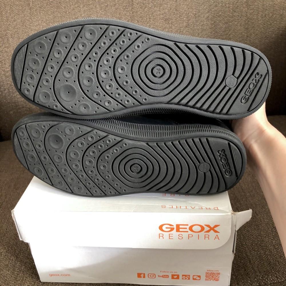 Туфли кроссовки geox кожа фото №2