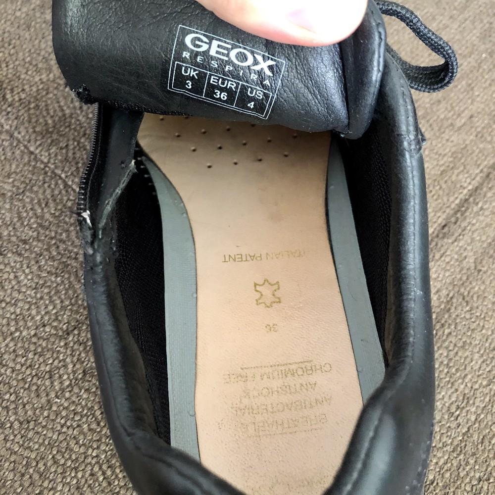 Туфли кроссовки geox кожа фото №6