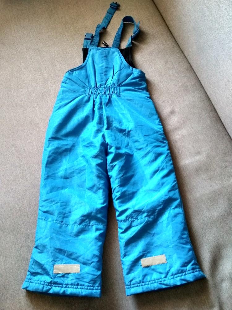 Детские зимние лыжные штаны полукомбинезон lupilu сша, на мальчика 2-4 года фото №9