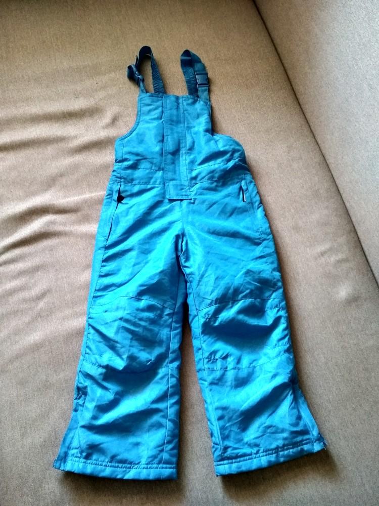 Детские зимние лыжные штаны полукомбинезон lupilu сша, на мальчика 2-4 года фото №1
