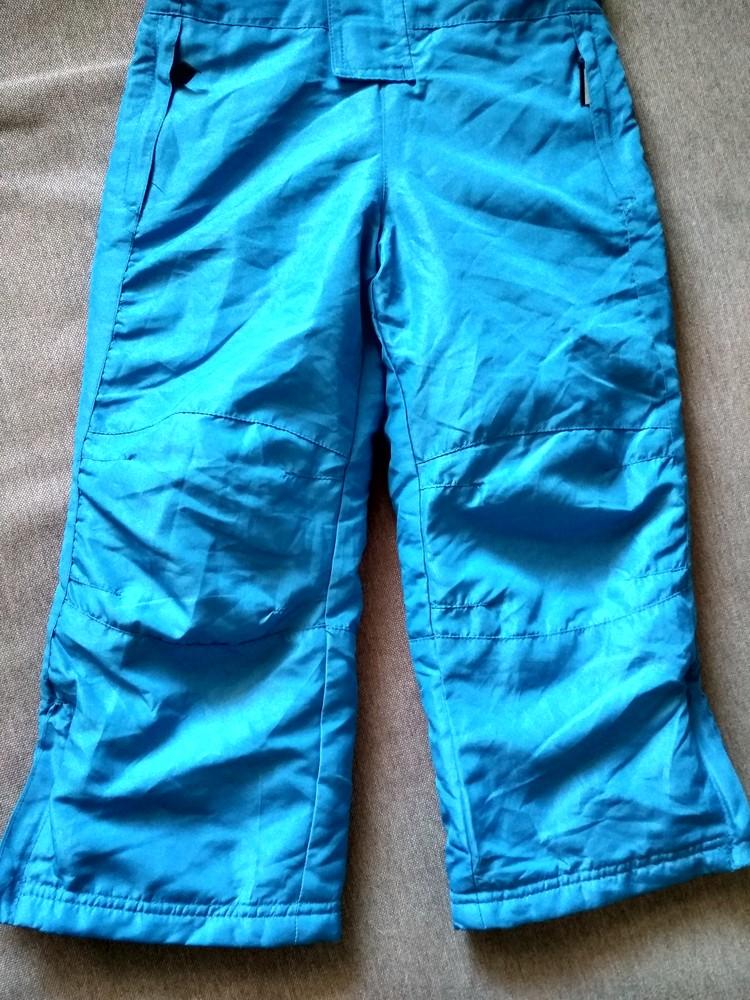 Детские зимние лыжные штаны полукомбинезон lupilu сша, на мальчика 2-4 года фото №2