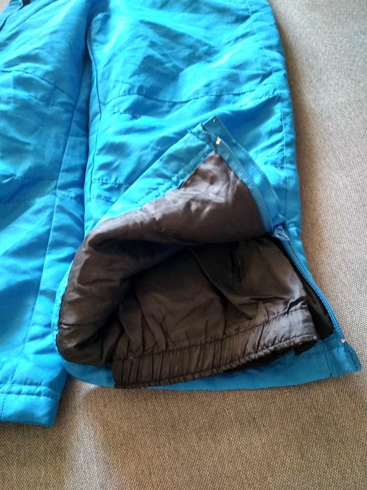 Детские зимние лыжные штаны полукомбинезон lupilu сша, на мальчика 2-4 года фото №3