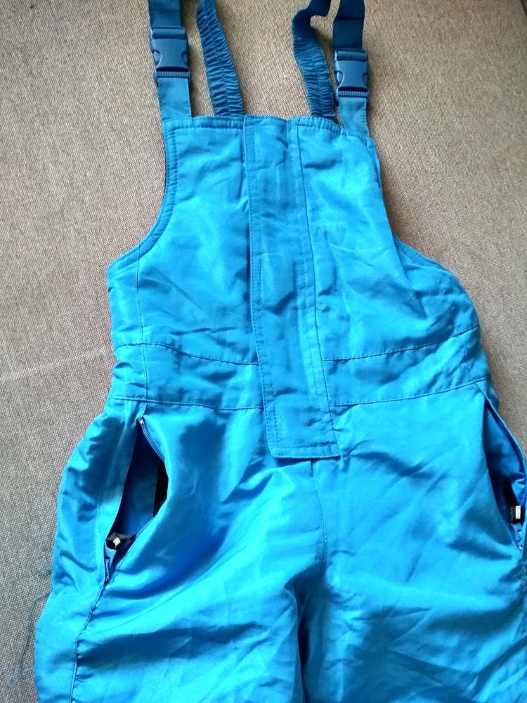 Детские зимние лыжные штаны полукомбинезон lupilu сша, на мальчика 2-4 года фото №5