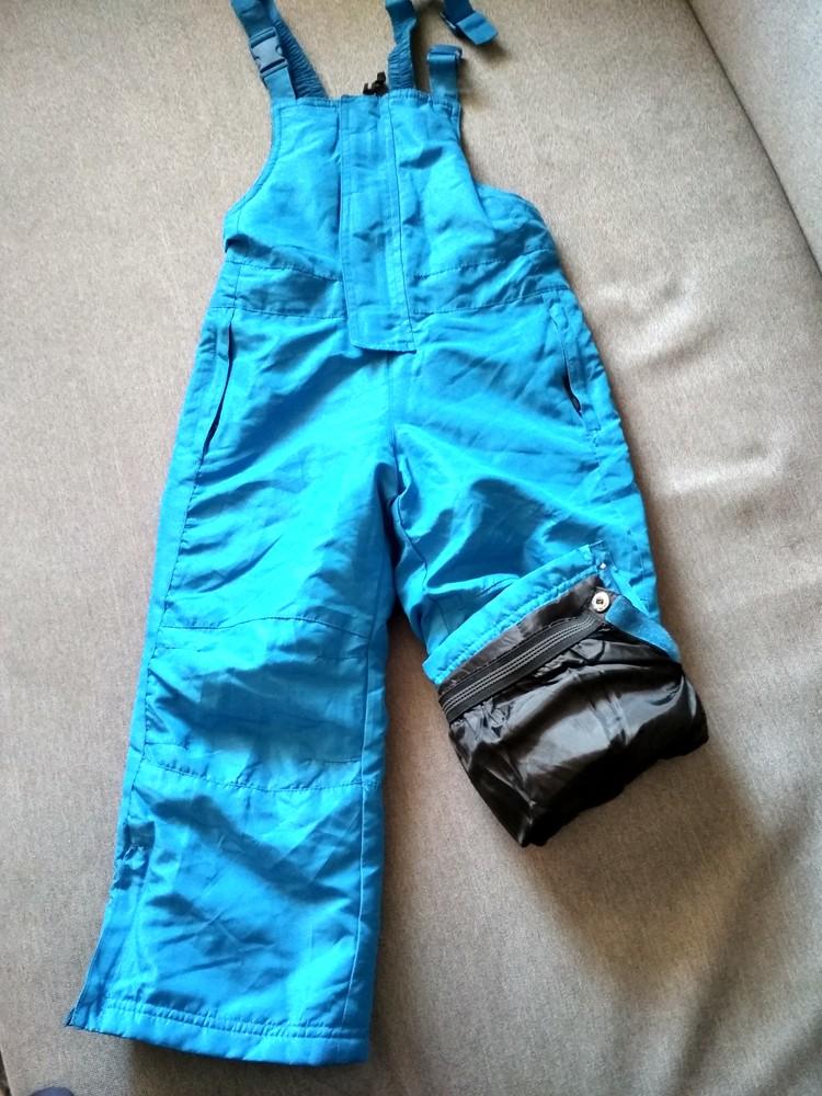 Детские зимние лыжные штаны полукомбинезон lupilu сша, на мальчика 2-4 года фото №8