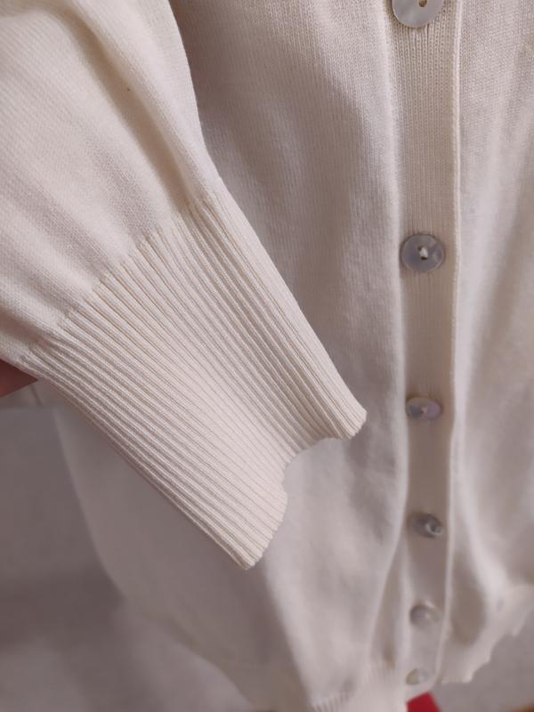 August silk замечательный кардиган, шелк+вискоза, на s-m фото №5