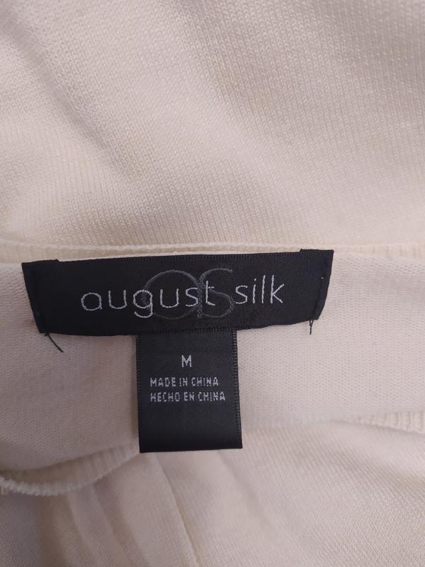 August silk замечательный кардиган, шелк+вискоза, на s-m фото №8